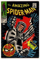The Amazing Spiderman 58, Ka-zar Appearance In To Kill A Spider-man, 1968