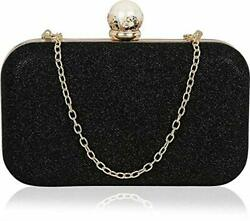 Indian Women#x27;s Clutch Handbags Evening Cocktail Party Stylish Clasp Purse Bags $28.94