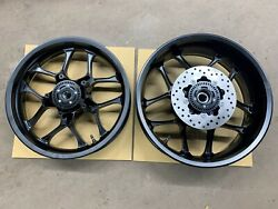 Genuine Yamaha Yec Yzf-r1 2015-2020 Set Of Front And Rear Motorcycle Wheels
