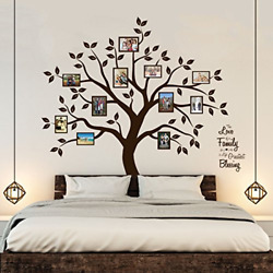 Timber Artbox Beautiful Family Tree Wall Decal with Quote The Only D�cor You amp;
