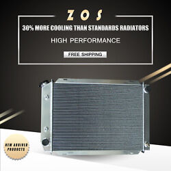Radiator For Ford Mustang Lincoln Mercury Cougar 78-93 Aluminum 3row At 138