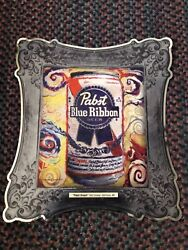 Pabst Blue Ribbon Rare Htf Tin Sign Pabst Dream - Todd Conway Baltimore Md