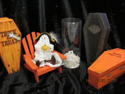 Byers Choice 🎃 Halloween Kindles Spook Mint In Original 🎃🎃🎃container