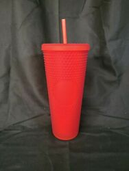 Bnwt Starbucks Matte Red Studded Tumbler Cup Christmas Holiday 2020 Exclusive