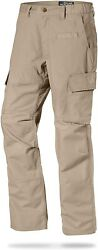 La Police Gear Menand039s Water Resistant Operator Tactical Pant With Elastic Waistba