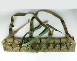 Vietnam Era Chinese Military Type 56 Canvas Ammo Pouch Andsks Canvas Sling Webbing
