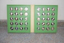 First Ladies Of The United States 1972 Franklin Mint Sterling Silver Medals