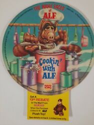 Vintage Burger King Movie Hand Sign Cookin With Alf