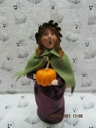 Byers Choice 2011🎃🎃 Halloween Witch With Pumpkin🎃🎃🎃