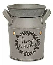 Scentsy Full Size Warmer Live Simply New in box