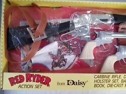 Vintage Red Ryder Wild West Action Set By Daisy