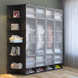 Multi Cubes Modular Wardrobe Cloth Shoe Closet Storage Unit Customize Any Shape