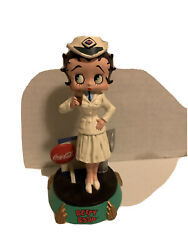 Coca Cola 2001 Betty Boop Delivery Bobber Figurine Statue King Features