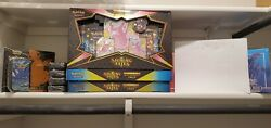 PokÉmon Shinning Fates Lot Etb / Tins / Boxes Battle Styles Red And Blue Etb's