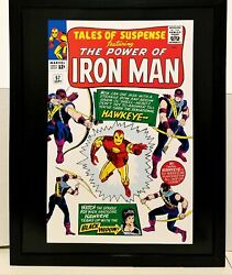 Tales Of Suspense 57 By Don Heck 11x14 Framed Marvel Comics Art Print Poster