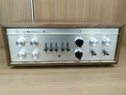 Luxman Control Amplifier Tube Type Preamp Cl-35 S/n 250124 Used From Japan