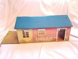 Vintage Wolverine Toy Co. Tin Litho Ranch Doll House No. 800 1950's Arkansas