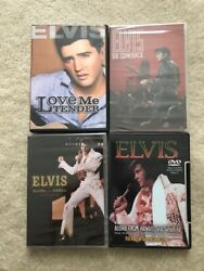 Elvis Presley Cd And Dvd Collection Plus I Was There Stamp