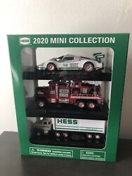 Hess Truck 2020 Toy Truck Mini Collection Race Car Fire Ladder Rescue 18 New Nib