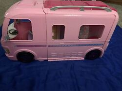 Barbie Bus Dream Travel Camper Extendable Rv Motor Home From 2016 By Mattel