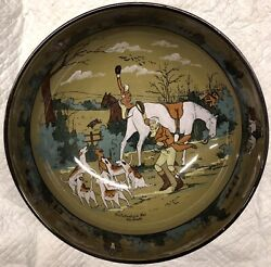 Fox Hunt Hunting Buffalo Pottery Large Serving Bowl Fallowfield Hunt The Death 2