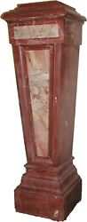 Museum Grade Antique French Marble Pedestal