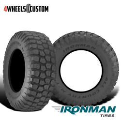 2 X New Ironman All Country M/t 40x15.50r26r10 Tires