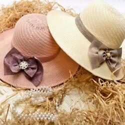 Summer Hats For Beach For Women Visors Hat Wide Brim Gifts Outdoor Q8C5 $6.28