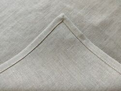 Linen Table Runner - Natural Linen Color Beige/gray - Various Size-free Shipping
