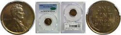 1914 Lincoln Cent Pcgs Pr-65 Rb Cac