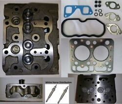 Complete Cylinder Head Fits Kubota L185 C/w Valves Gaskets And 2 Glow Plugs