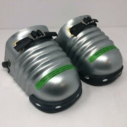 Ellwood Safety Appliance Co 201-5.5 Menand039s Metal Foot Guards W/ Rubber Toe 1 Pair