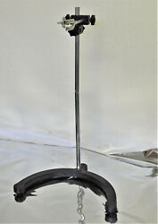 Large Heavy Stable Cast Iron Base Support Stand Lab 24 Height Overhead Mixer