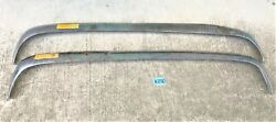 Used Original ... 1960 - 1968 Sunbeam Alpine Front And Rear Bumpers K050