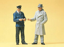 Preiser G Scale 45003 Conductor And Passenger 122.5 Figures