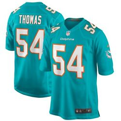 Miami Dolphins Zach Thomas 54 Nike Men's Nfl Game Retired Player Jersey