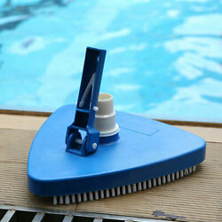 Weighted Triangular Pool Vacuum Head Cleaner With Brush Cleaning Accessories Us