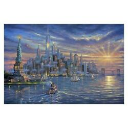Robert Finale, Freedom Tower Hand Signed, Artist