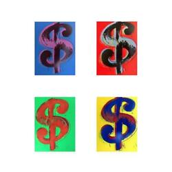 Andy Warhol Dollar Signs Limited Edition Suite Of