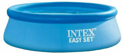 Intex 8and039andtimes24 Easy Set Pool Round Inflatable Above Ground Pool 🔥free Shipping🔥