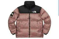 Supreme The Tnf Studded Nuptse Jacket Brand New Red Size Xl In Hand