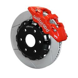 Wilwood 140-9789-r W6a 14.25 Front Brake Kit, 99-up Gm Truck/suv 1500