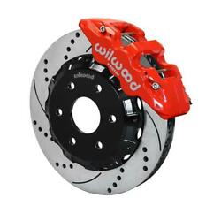Wilwood 140-9789-dr W6a 14.25 Front Brake Kit 99-up Gm Truck/suv 1500