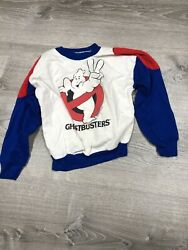 Vintage Ghostbusters 2 Sweater 1989 Columbia Pictures Kids S/m As Is See Pics