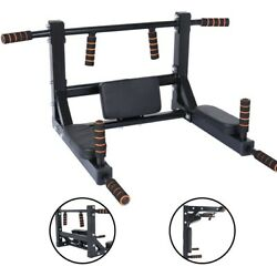 Home Wall Mounted Pull Up Chinup Bar Multi Function Home Exercise Fitness