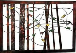 22021 Birds Metal Wall Decor Tree of Life 39 Inch Multi color mix X Large