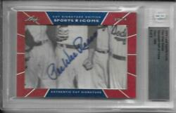 2014 Leaf Sports Icons Pee Wee Reese Cut Auto /6 Dodgers