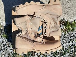 Us Gi Desert Boots Size Mens 9.5 W New In Box Wellco