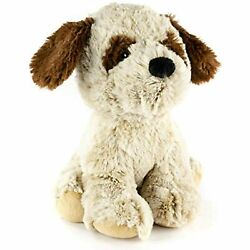Giftable World 9 Plush Sitting St. Bernard With Squeaker And Crinkle Ears Pet