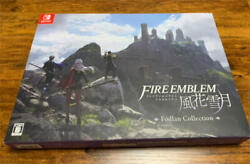 Nintendo Fire Emblem Three Houses Fodlan Collection Switch Game Soft + Cd F/s